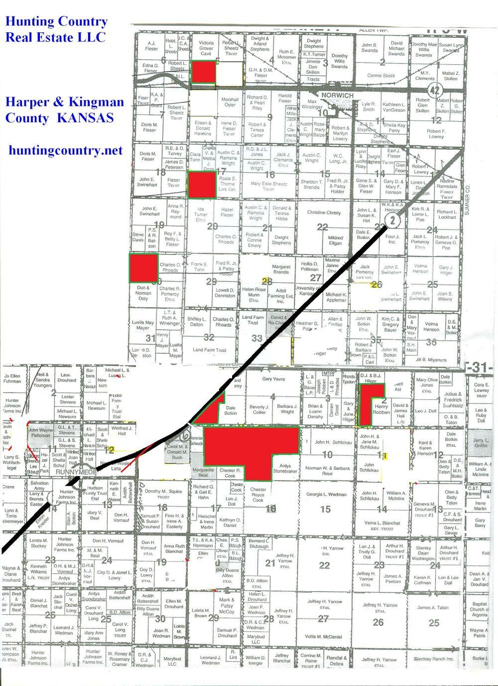 KS-413 Harper County, KS